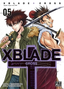 X blade cross - TatsuhikoIda