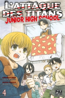 L'attaque des titans : junior high school - Saki Nakagawa