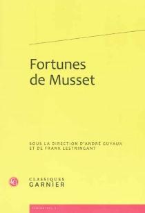 Fortunes de Musset -