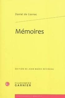 Mémoires (1628-1708) - Daniel deCosnac