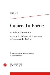 Cahiers La Boétie, n° 1 -
