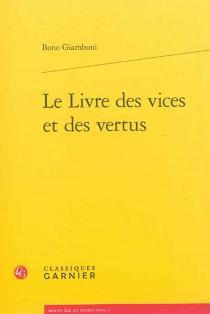 Le livre des vices et des vertus - BonoGiamboni