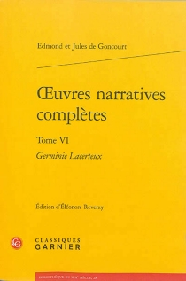 Oeuvres narratives complètes - Jules deGoncourt