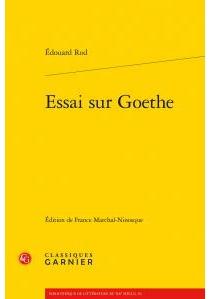 Essai sur Goethe - ÉdouardRod