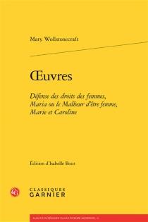 Oeuvres - MaryWollstonecraft