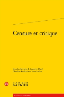 Censure et critique -