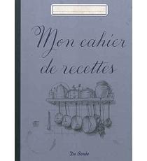 Mon cahier de recettes autres cuisine espace culturel for Cahier de cuisine vierge