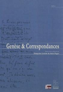 Genèse et correspondances -