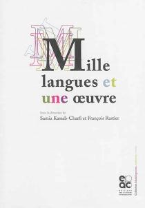 Mille langues et une oeuvre - SamiaKassab-Charfi