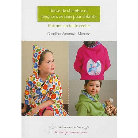 Robes de chambre et peignoirs de bain pour enfants tailles 3 4 5 6 7 et 9 ans couture - Robes de chambre enfants ...
