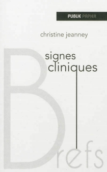 Signes cliniques - ChristineJeanney