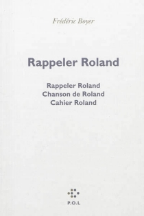Rappeler Roland - FrédéricBoyer