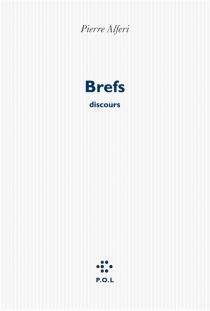 Brefs : discours - PierreAlféri