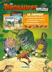 Les dinosaures en bande dessinée : le coffret - Bloz