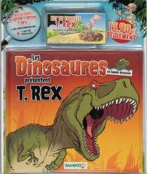 Les dinosaures en bande dessinée présentent : T.Rex - Bloz