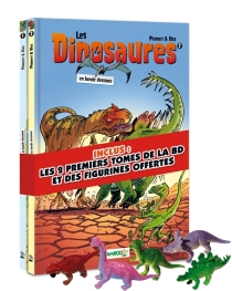 Les dinosaures en bande dessinée : tomes 1 et 2 - Bloz