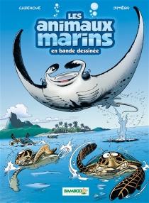 Les animaux marins en bande dessinée - ChristopheCazenove