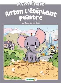 Anton l'éléphant peintre - Domas