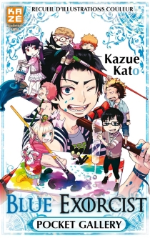 Blue exorcist : pocket gallery - Kazue Kato