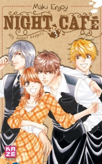 Night café : my sweet knights - Maki Enjoji