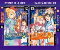 Coffret Nisekoi : amours, mensonges et yakuzas ! : tomes 12 et 13 - NaoshiKomi
