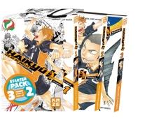 Haikyu !! : les as du volley : coffret trois premiers tomes - HaruichiFurudate