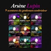 Arsène Lupin : 9 aventures du gentleman-cambrioleur - MauriceLeblanc