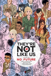 They're not like us - Simon Gane