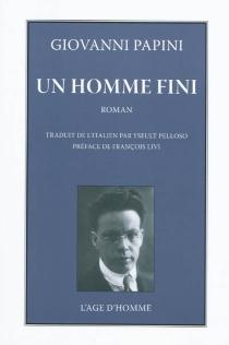 Un homme fini - GiovanniPapini