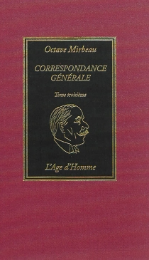Correspondance générale - OctaveMirbeau