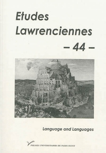 Etudes lawrenciennes, n° 44 -