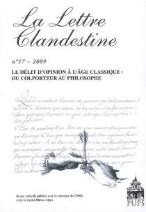 Lettre clandestine (La), n° 17 -