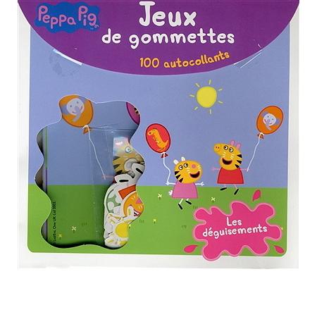 Peppa pig jeux de gommettes les d guisements livres - Jeux de peppa ...