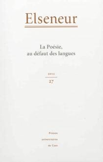 Elseneur, n° 27 -