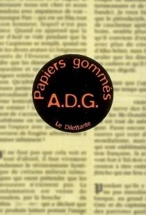 Papiers gommés - A.D.G.