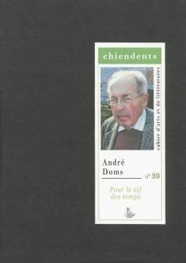 Chiendents : cahier d'arts et de littératures, n° 39 -
