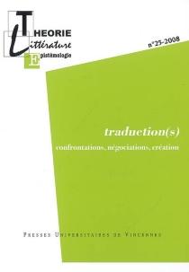 Théorie, littérature, épistémologie, n° 25 -