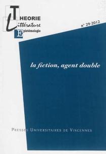 Théorie, littérature, épistémologie, n° 29 -