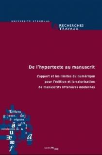 Recherches et travaux, n° 72 (2008) -