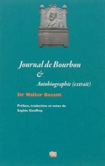 Journal de Bourbon| Autobiographie : extrait - WalterBesant