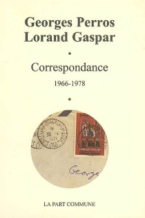 Correspondance : 1966-1978 - LorandGaspar