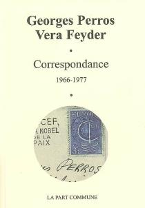 Correspondance (1966-1977) - VeraFeyder