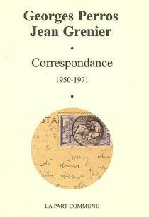 Correspondance : 1950-1971 - JeanGrenier