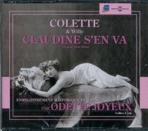 Claudine s'en va : enregistrement historique de 1954 - Colette