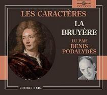 Les caractères - Jean deLa Bruyère