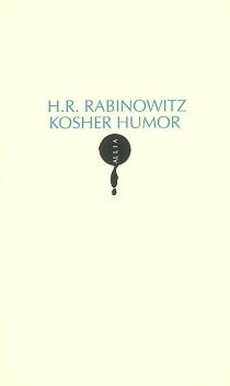 Kosher humor - H.R.Rabinowitz