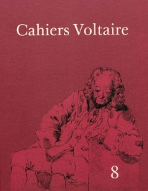 Cahiers Voltaire, n° 8 -