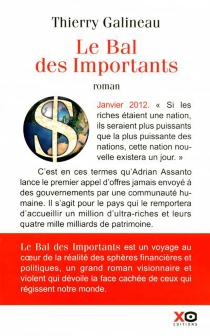 Le bal des importants - Thierry Galineau