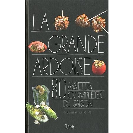 La grande ardoise 80 assiettes compl tes de saison autres cuisine espace culturel e leclerc - Paillis ardoise leclerc ...