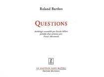 Questions - Roland Barthes